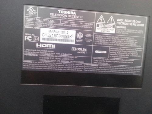 tarjeta inverter toshiba 32c120u