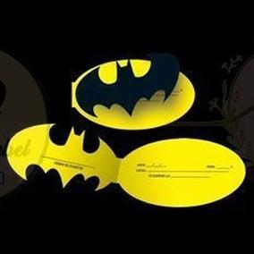 Tarjeta Invitacion Batman Bautismo Cumpleaños Super Heroe