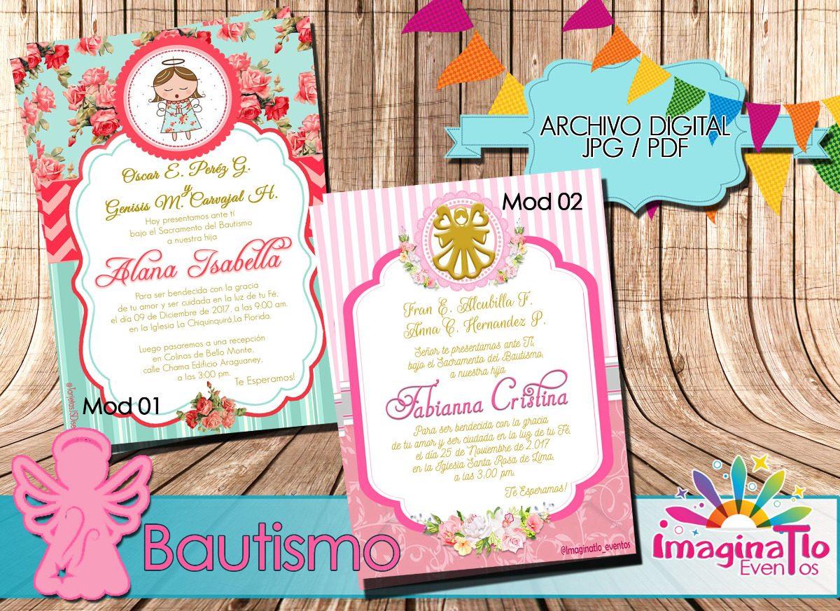 0bc7cfb73e16d tarjeta invitación digital baby shower y bautizo. Cargando zoom.