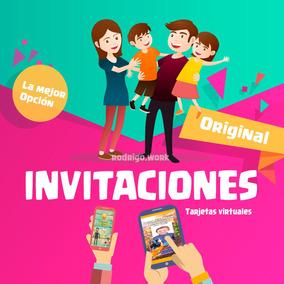 Tarjeta Invitación Digital Video Cumpleaños La Mejor Opción
