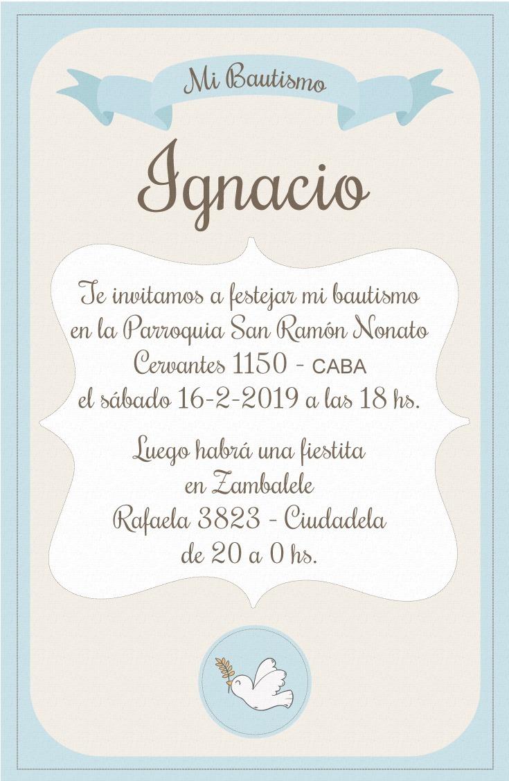 Invitaciones Para Fiestas Y Eventos Tarjeta Invitación X75
