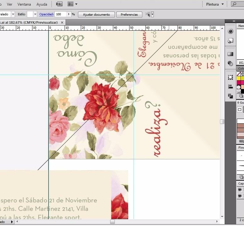 Tarjeta Invitación Lúdica Para Imprimir Formato Pdf