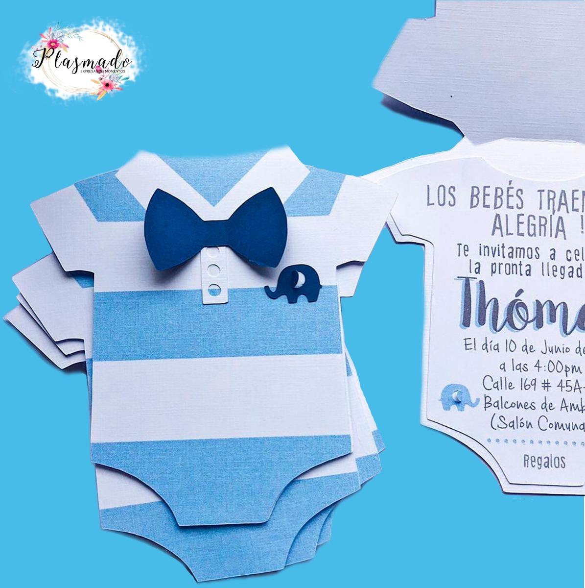 00b9b5738c88e Tarjeta Invitación Para Baby Shower -   2.500 en Mercado Libre