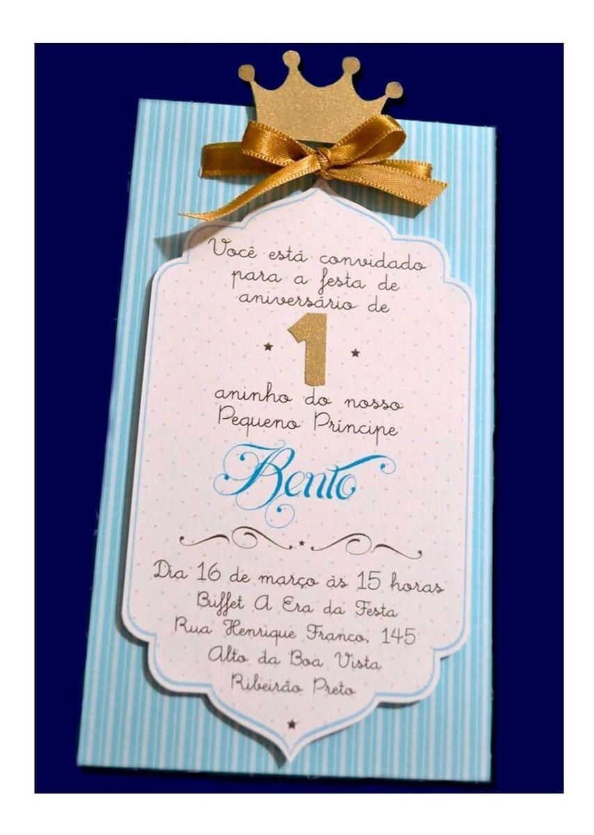 Tarjeta Invitación Para Baby Shower De Rey