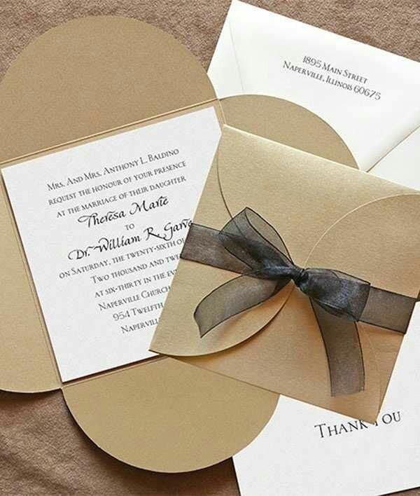 Tarjeta De Invitacion De Matrimonio