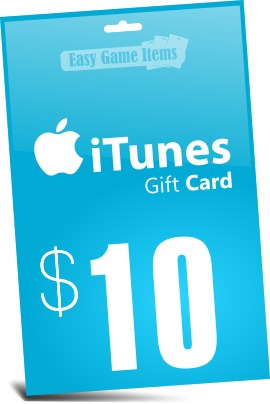 tarjeta itunes gift card $10 - app store iphone ipad ipod