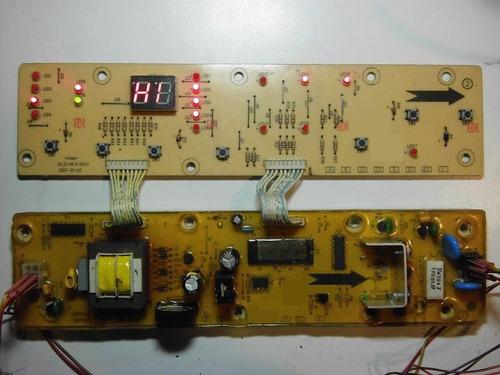 tarjeta lavadora electrolux elav 9700 diagnostico