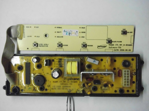 tarjeta lavadora electrolux elav9000 diagnostico
