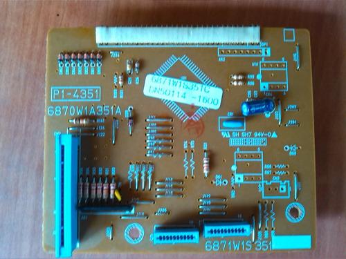 tarjeta lg power control 6871w1s351c (r2d)