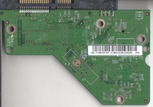 tarjeta lógica  disco duro wd 20ears-00mvwb0 2.0tb