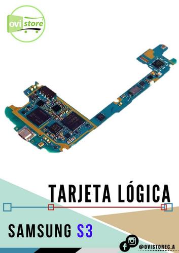 tarjeta logica samsung s3 i9300/305 original nueva instalada