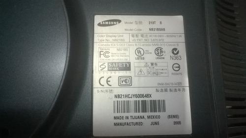 tarjeta lógica y poder monitor samsung 213t s