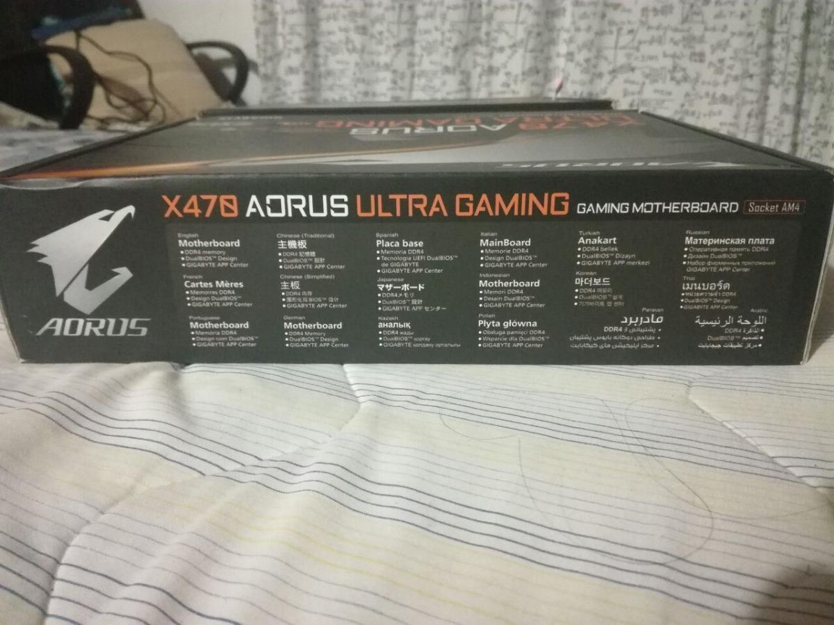 Tarjeta Madre Amd Gigabyte X470 Aorus Ultra Gaming