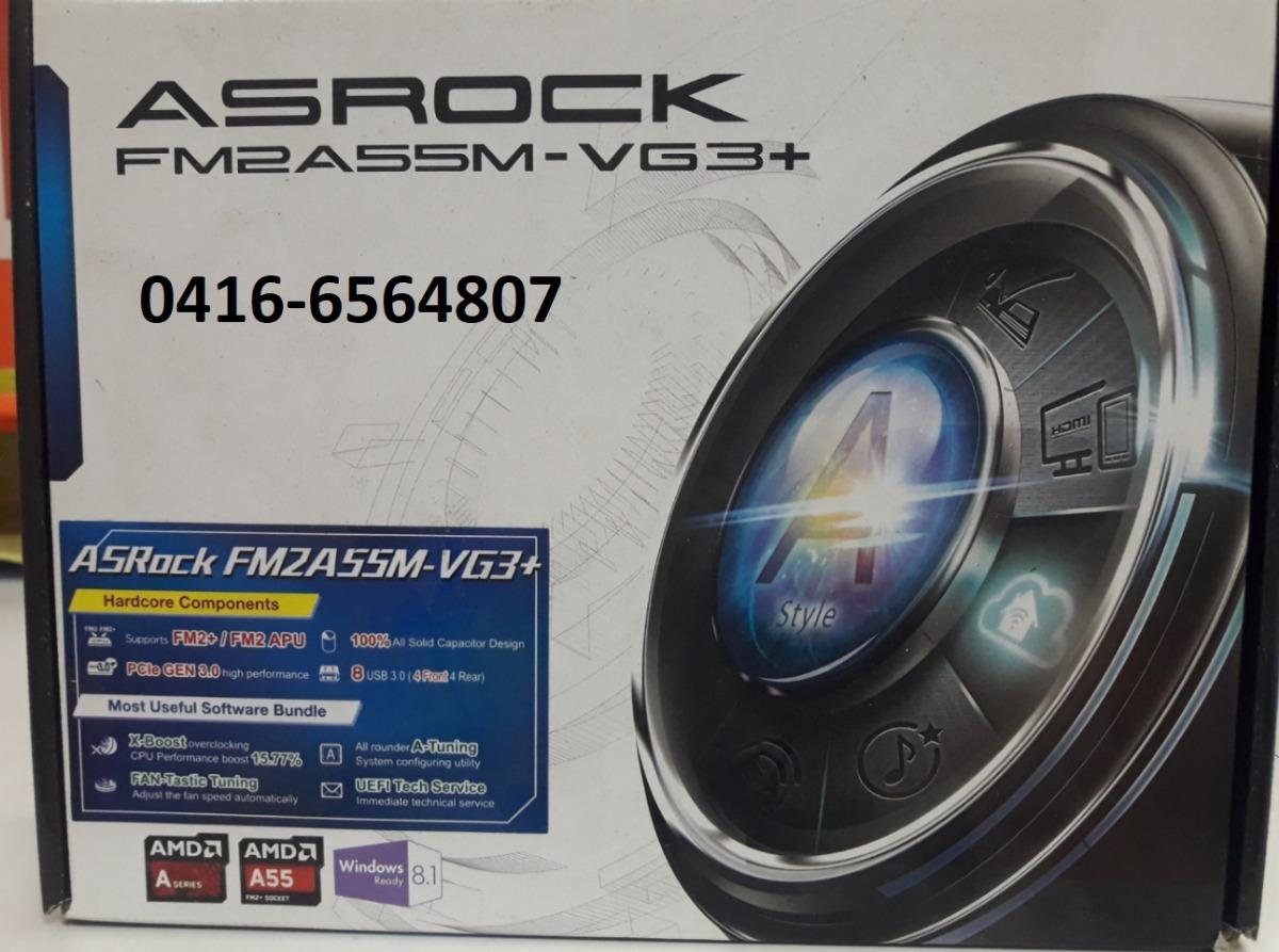 ASROCK FM2A55M-VG3+ A-TUNING DRIVER FREE