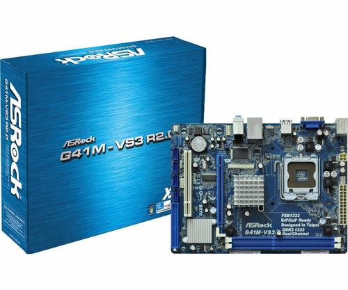 tarjeta madre asrock g41m-vs3 r2.0 socket 775 100% original