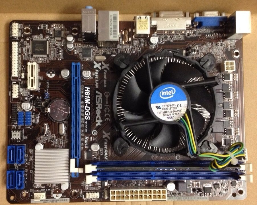 ASRock H61M-GS Realtek HD Audio 64x