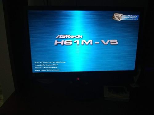 tarjeta madre asrock h61m-vs con procesador i3 2100 3.10 ghz
