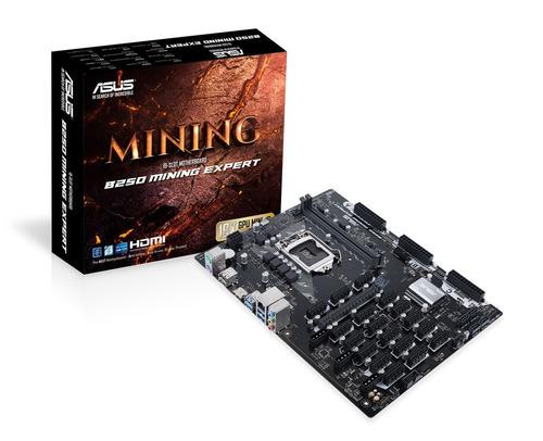tarjeta madre asus b250 mining lga1151 ddr4 b250 19 pcie 95t