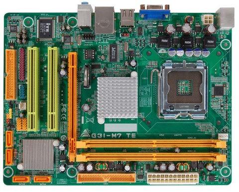 tarjeta madre biostar g31-m7 te versión 6.1 nueva 100%