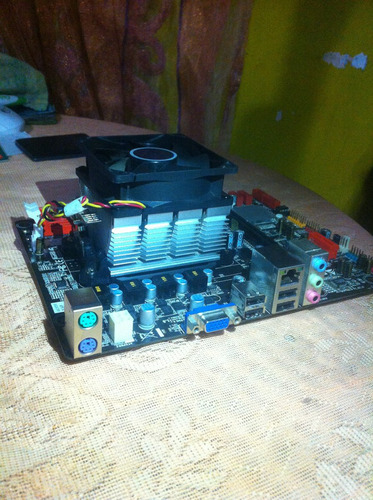 tarjeta madre biostar ns853b ddr3 con procesador