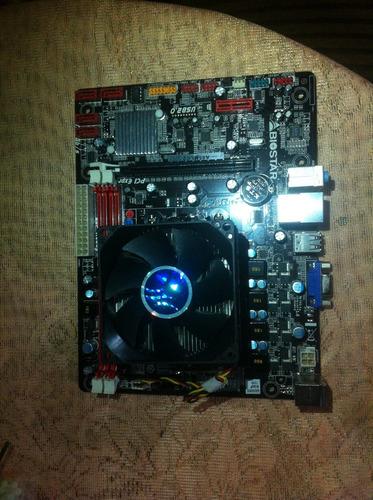 tarjeta madre con procesador