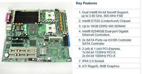 tarjeta madre de doble procesador para servidor