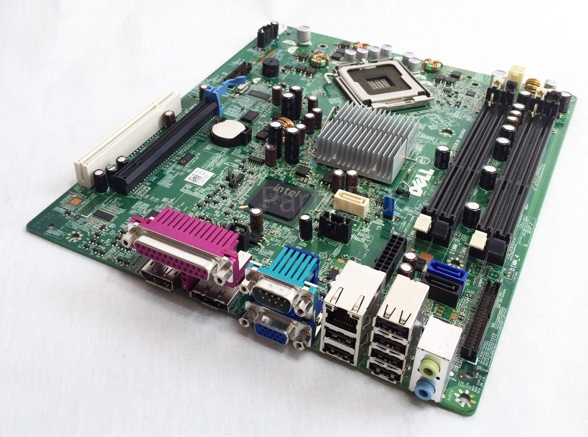 Tarjeta Madre Dell Optiplex Gx 780 Sff/ Lector De Laptop