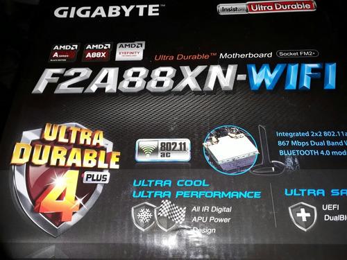 tarjeta madre f2a88xn-wifi gigabyte