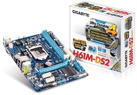 tarjeta madre gigabyte 1155 h61m-ds2