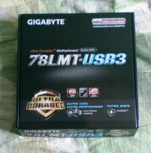 tarjeta madre gigabyte am3+ amd ga-78lmt-usb3