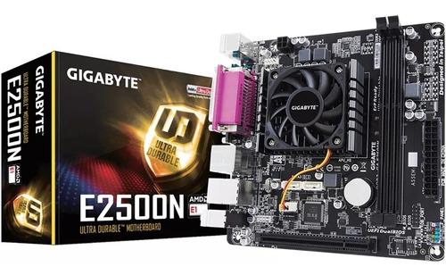 tarjeta madre gigabyte e2500n amd kit actualización amd ddr3