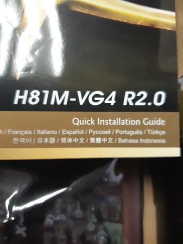 tarjeta madre h81 socket 1150 procesador core i3 4gb en ram