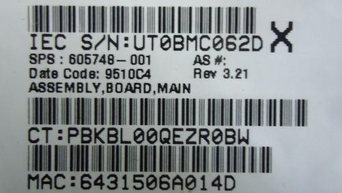 tarjeta madre laptop hp 320 420 620 intel n/p: 605748-001