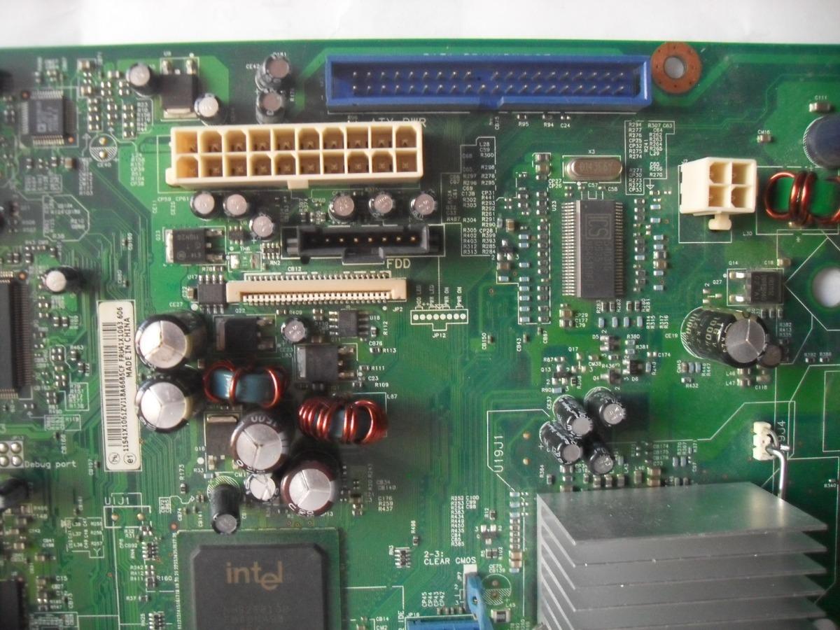 Tarjeta Madre Lenovo Thinkcentre M52 De Tipo 9210 - $ 999 00