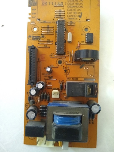 tarjeta madre microondas