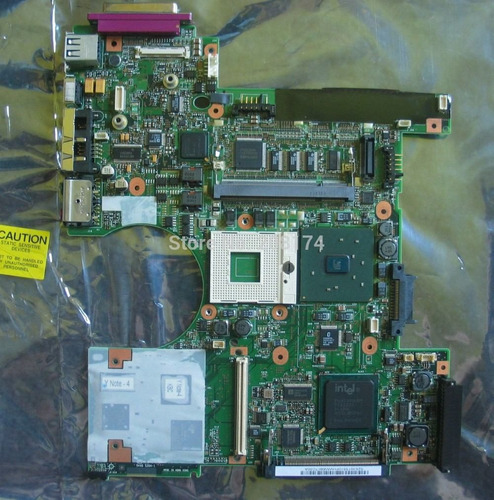 tarjeta madre motherboard lenovo t40 t41 t42 91p7709 dañada