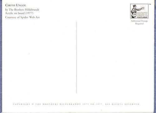 tarjeta magnetica sr. de los anillos *cirith ungol*