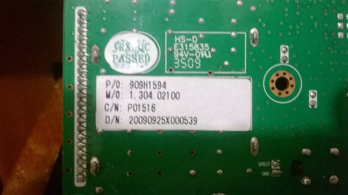 tarjeta main board para tv lcd 32    cv118h