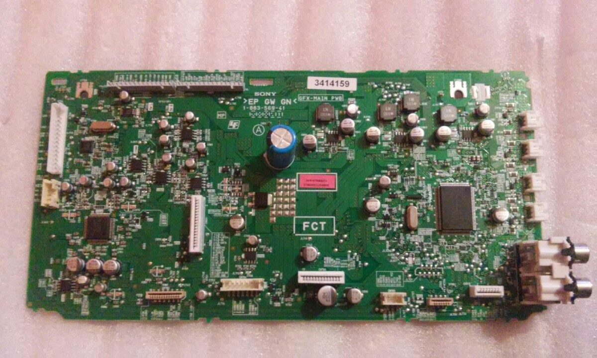 Tarjeta Main Para Modular Sony Mhc-gtr888