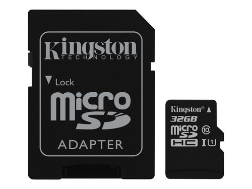 tarjeta memoria kingston 32gb micro sd hc canvas select