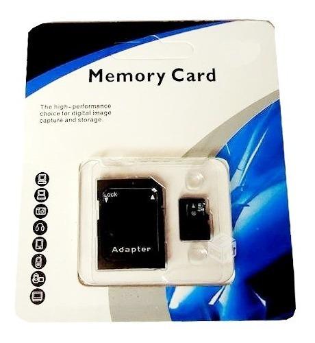 tarjeta memoria micro sd con adaptador sd 32gb
