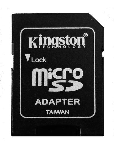 tarjeta memoria micro sd hc capacidad 8gb clase 4 kingston