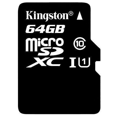 tarjeta memoria micro sd kingstonclase 10 uhs-i de 45gb co