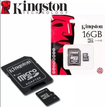tarjeta micro sd kingston clase 10(32 gb)