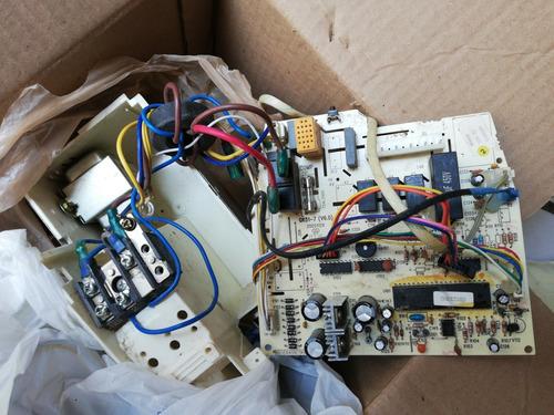 tarjeta minisplit mirage 1 tonelada 220 con sensores y trans