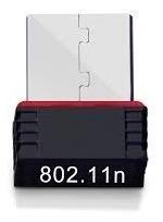 tarjeta nano adaptador receptor usb wifi 150mbps 802.11n pc