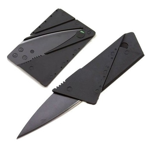 tarjeta navaja cuchillo convertible simil tarjetas crédito