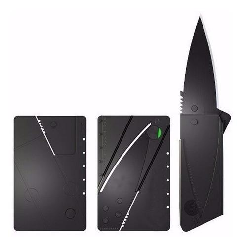 tarjeta navaja cuchillo simil tarjeta de crédito convertible
