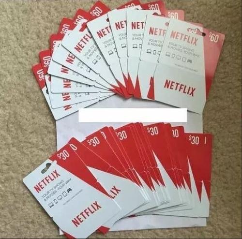 tarjeta netflix 3 meses