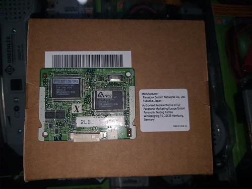 tarjeta panasonic kx-te82492 para 24 buzones voz y 60 minutos de grabacion, tarjeta para el kx tes824